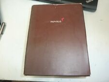 PAPYRUS WEDDING GUEST BOOK 100 PAGES UNUSED