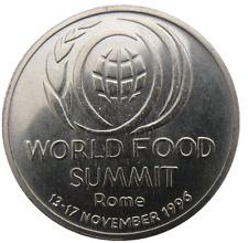 ROMANIA 10 LEI 1996 KM# 126 WORLD FOOD SUMMIT - ROME KRAUSE VALUE 16$