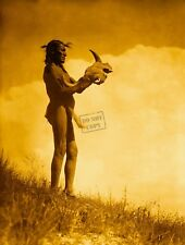 Edward Curtis Picket Pin Giclee Fine Art Print Open Edition Reproduction