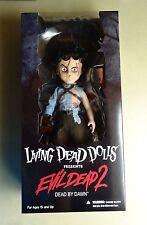 Mezco Toys Living Dead Dolls (LDD) Ash Evil Dead 2 Doll *New & RARE*