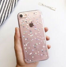 Bling Soft TPU Phone Case TPU Bumper Protective Cover For iPhone XR 7+ 6s 8 5 Xs