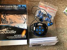 New H2O Audio Swim Solution Interval (Int4-Bk)