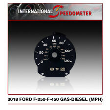 2018 Ford F250 F450 Expedition Speedometer Faceplate (MPH)