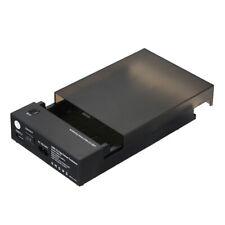 SATA HDD SSD Station d'accueil Boîtier de disque dur externe USB 3 2,5 / 3,5