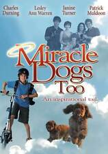 MIRACLE DOGS TOO Movie POSTER 27x40 Janine Turner Patrick Muldoon Dustin Hunter