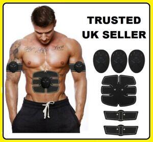 💙 ABS Stimulator Abdominal Muscle Training Toning Belt EMS trainer Fitness Belt