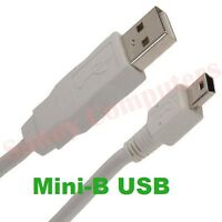 Mini USB 5P Male to Male M/M Cable GPS MP3 Data Charger Mini-B 5Pin Plug Cord