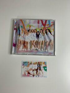 TWICE FANFARE Regular version album CD + group photocard
