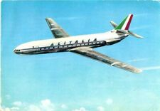 Postcard: Italy - Alitalia, Caravelle III S. E. 210