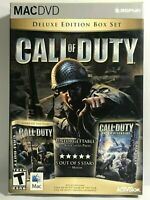 CALL OF DUTY Deluxe Edition United Offensive Mac Apple Computer Video Game 2005