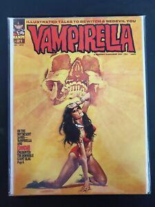 Vampirella #21 VF+ (1972) Warren Magazine Book