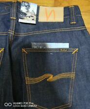 Nudie Jeans Straight Sven Dry Selvedge Jeans New Old Stock W32 L32 Selvage Rare