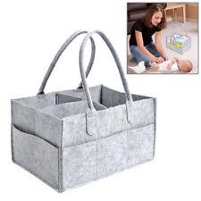 Chic Baby Diaper Caddy Portable Infants Nursing Bin Outdoor Nappy Storage Bag