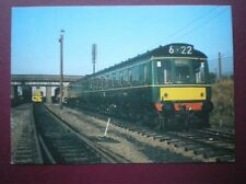 POSTCARD DIESEL MULTIPLE UNIT NO 51616 & 51622 WITH TRAILER CAR 59276 - GREAT CE