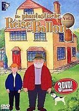 Die Phantastische Reise im Ballon ( Kinder Zeichentrick ( 3 DVDs ) NEU OVP