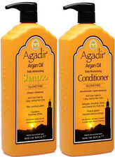 AGADIR ARGAN OIL DAILY MOISTURIZING SHAMPOO 1 LITRE AND CONDITIONER 1 LITRE