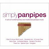 NEW; VARIOUS: SIMPLY PANPIPES.  4xCD BOX SET.  WILL MAKE SUPERB PRESENT. AMAZING