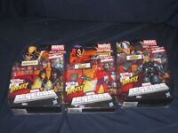 MARVEL LEGENDS KLAW, CONSTRICTOR, & THOR 2011 HASBRO ACTION FIGURES