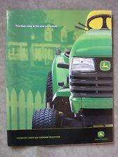 John Deere LT 150 160 180 190 LX 280 289 X 595 575 495 465 Lawn Tractor Brochure