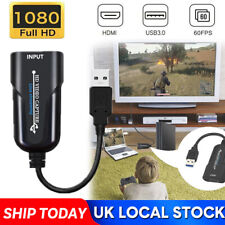 More details for hdmi to usb 2.0 port video capture card record 1080p hd 60fps for live streaming