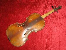 """Sehr alte 4/4 Geige """"Antonius Stradiuarius"""" zur grundlegenden Überarbeitung"""