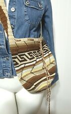 Hobo Bag Hand-Woven Peru Tibial Looking Tote Bag Hippie Gypsy Bohemian Purse