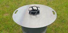 Wokaufsatz für Feuerplatten / Grillplatten mit 200mm Öffnung, NEU