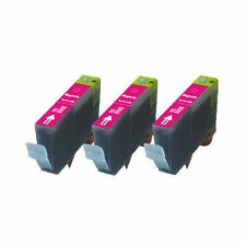 3 MAGENTA Printer Ink + chip use for Canon CLI-226M iP4920 MG5220 MG5320 MG612