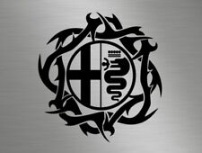 Alfa Romeo Badge Logo Car Vinyl Tribal Vinyl Decals Windows Sticker gtv 159 mito
