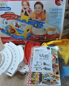 NEW Clementoni Baby Turbo Racecourse Baby Go! 59131 Stretchy Tracks Cars Missing