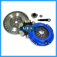 UF STAGE 4 CLUTCH KIT+FORGED LIGHT RACE FLYWHEEL 92-05 HONDA CIVIC 93-95 DEL SOL