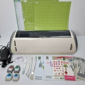 Cricut Expression Machine With Accessories Mats Tools Cartridges