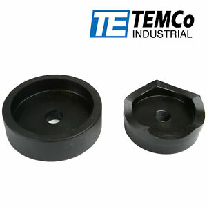 """TEMCo 3"""" Conduit Punch and Die For Hydraulic Knock Out Driver 3/4""""-16 Thread"""