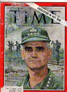 1965 Time February 19 Viet Nam war escalates; Phil Spector; Ponti/Loren marriage