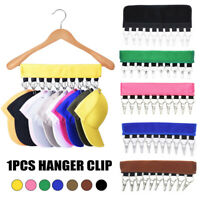 Cap Clothes Organizer Hanger 10 Caps Holder Hats Organizer for Closet 7 Colors