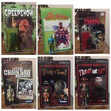 Retro Reaction Super7 Custom 12 Figure Lot Freddy Jason Evil Dead Horror Toys
