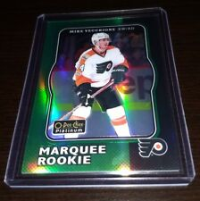MIKE VECCHIONE FLYERS 2017-18 OPC PLATINUM RETRO GREEN RAINBOW ROOKIE RC 32/49 !