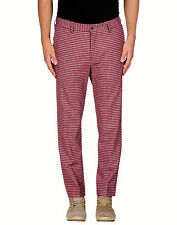 NEW MSGM MILANO SLIM CROPPED CHECK PANTS MADE IN ITALY TAG SIZE 46, FITS USA 30