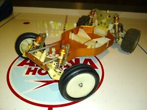 RC10 Team Associated A Stamp Buggy  Gold Pan vintage Cadillac Used