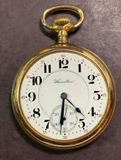 Hamilton 992 Running Railroad Pocket Watch-16 Size-21 Jewel