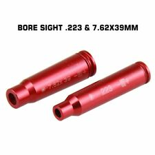 2 items RED Laser .223 & 7.62*39 Bore Sight Boresighter Laser Boresight