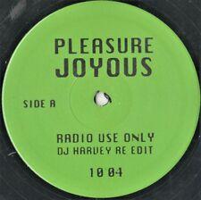 "Pleasure  – Joyous (DJ Harvey Re-Edit) - 12"""