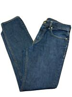J Crew The Sutton Straight Leg Jeans Mens 32x30 Dark Wash Blue Denim Slim Fit