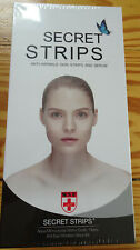 SHR Germany Secret Strips Augenpads mit Hyaluron Serum 10 Stück, NEU