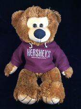 Hersheys Brown Teddy Bear Hoodie Plush Soft Toy Factory 2008 Stuffed