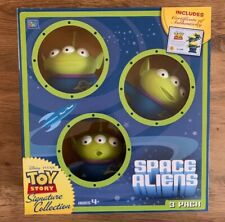 Thinkway Signature Collection Toy Story Space Aliens 3 Pack With COA Certificate