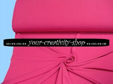 Jersey Pink, 1 Meter, 140 cm breit, Meterware uni pink