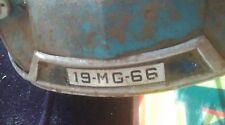 ancienne voiture à pédales enfant MG CITROEN DS 1966,jouet,moto,cyclo,no émaillé