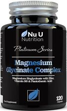 Magnesium Glycinate Complex with Vitamin B6, Zinc & Pantothenic Acid