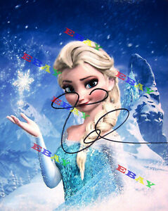 Idina Menzel Voice of Elsa Disney Frozen Autographed Signed Photo Reprint